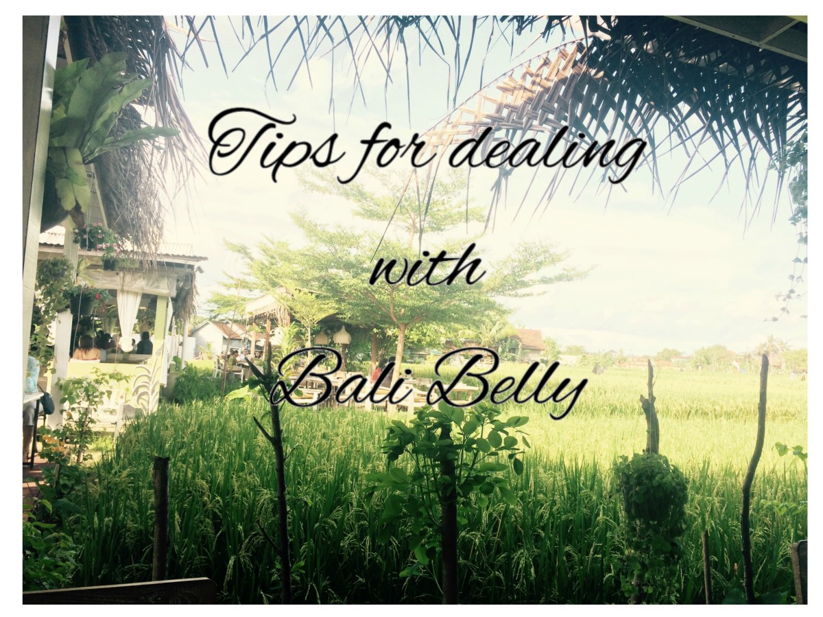 How To Deal With Bali Belly