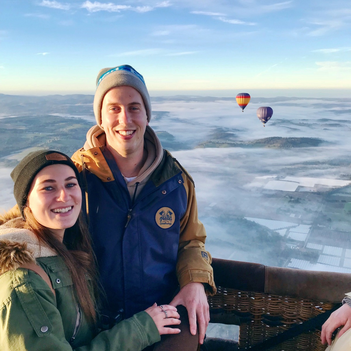 Hot Air Ballooning ↠ Yarra Valley, Victoria
